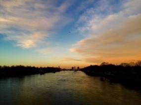 Sunrise from Chelsea Bridge (again)