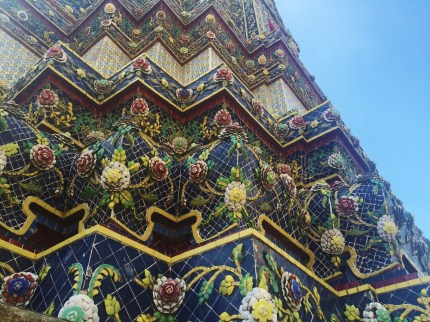 Tiles in Wat Pho, Bangkok