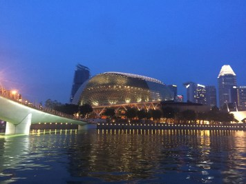 Jubilee Bridge and Theatres on the Bay