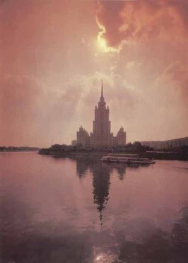 Sunset Moscow River
