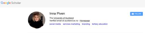 Piven on Google Scholar