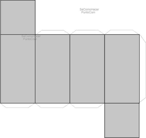 Resultado de imagen de moldes figuras geometricas para armar