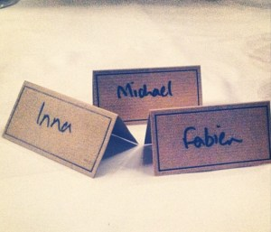 Badges with names