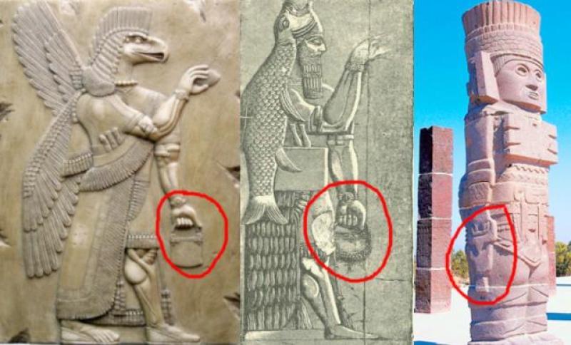 Tajemniczy symbol na rzeźbach z całego świata – co on oznacza?