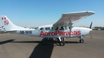 Samolot, z którego oglądaliśmy Rysunki w Nazca