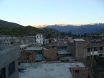 Wschód słońca w Cabanaconde