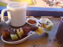 Czekoladowe fondue w ChocoMuseo
