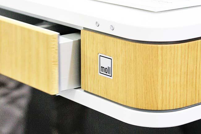 MOLL Auszug Schreibtisch