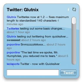 Twitterlex 1.2 Screenshot Front