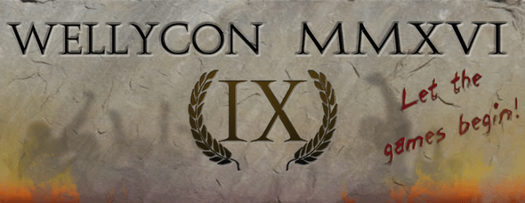WellyCon MMXVI IX - Let the games begin!