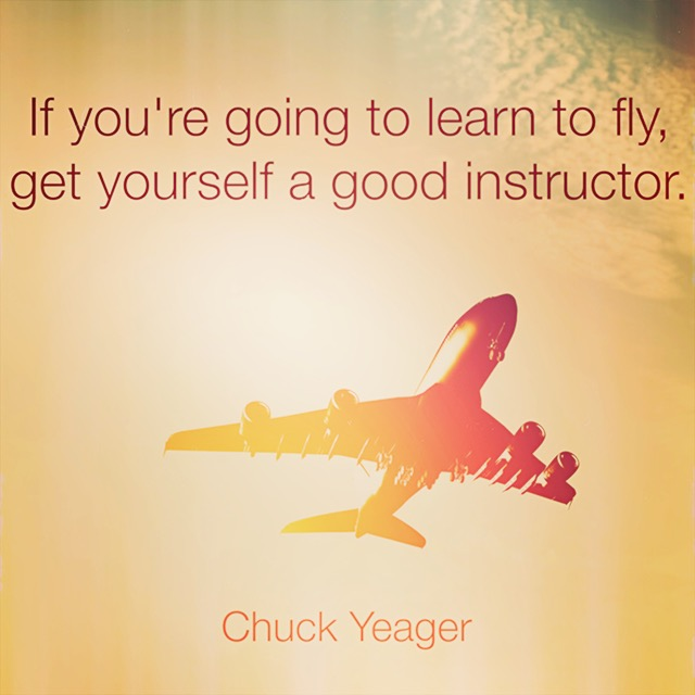 Chuck Yeager on flying