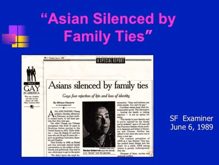 Asian Silenced by Family Ties