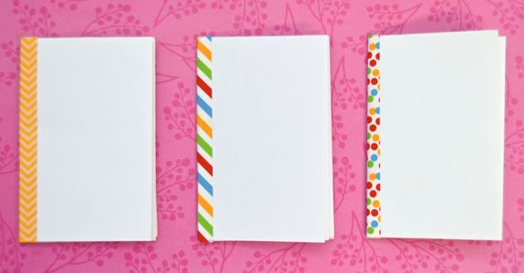 How To Make A Mini Sketchbook From A Sheet Of Paper Easy