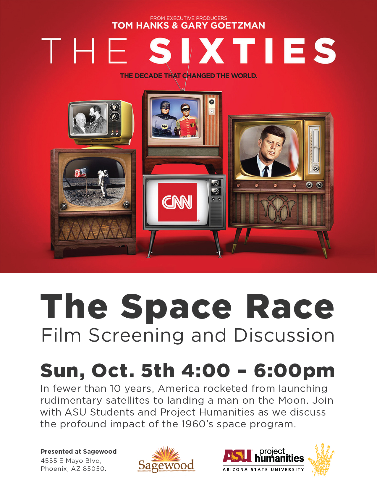 Come Watch And Discuss The S Space Program Oct 5