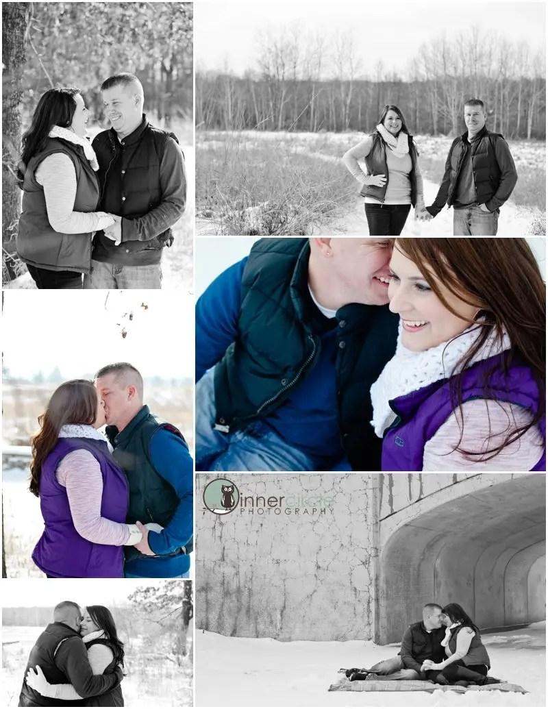 seantheresaENG003 Sean and Theresa ENGAGED! Winter Michigan Engagement