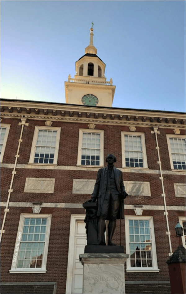 George Washington Statue at Independence Hall