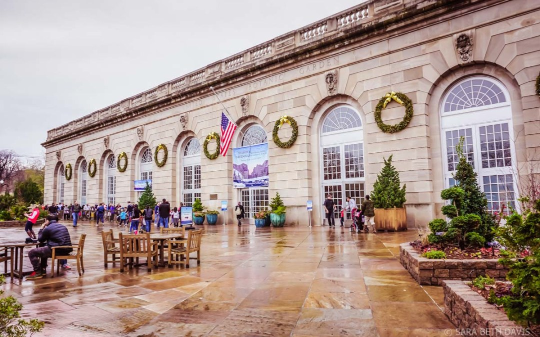 United States Botanic Garden Holiday Exhibit: National Parks and Historic Places