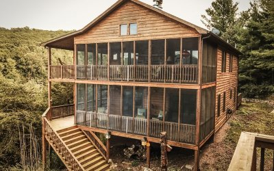 Escape DC for a Weekend in a Lost River, West Virginia Cabin Rental