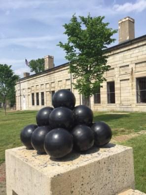 Cannon balls - Fort Adams