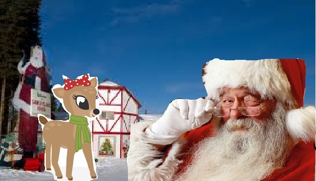 YOU KNOW DASHER AND DANCER,PRANCER AND VIXEN, BUT DO YOU RECALL, Olivia the reindeer accusing Santa of sexual harassment?