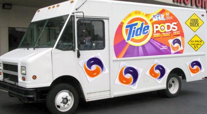tide pods food trucks