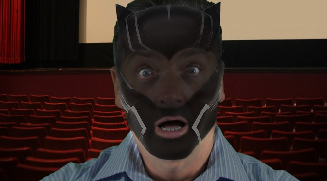 Man Kicked Out of Movies 10 for Wearing BLACK panther FACE