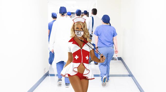 Spirit Halloween Donates Sexy Nurse PPE to Rochester General Hospital