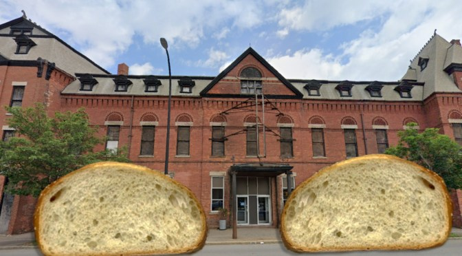 Purchasers of the Nick Tahous' Building to Receive Two Car-Sized Pieces of  Bread