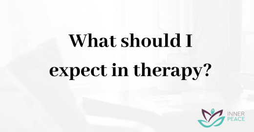 What should I expect in therapy?