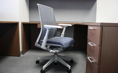 Haworth Office Chair (silver)