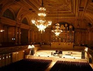 Der grosse Konzertsaal der Zürcher Tonhalle