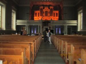 Der  stilvolle Ort für dieses Konzerterlebnis. Kirche Neumünster in Zürich