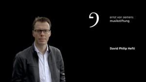 Komponist David Philipp Hefti