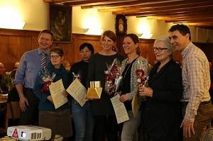 Übergabe des Altstadtpreises 2016 an eine Gruppe von sechs Altstadtgassengeschäften
