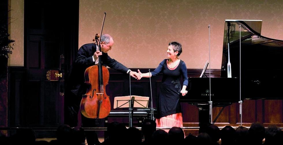 Die beiden Protagonisten des Konzertes