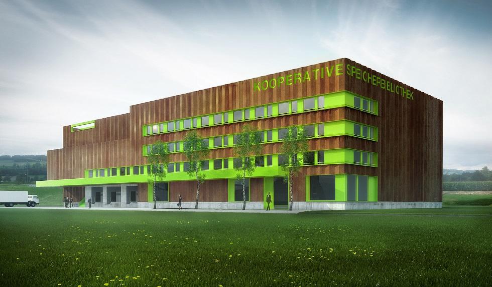 Kooperative Speicherbibliothek Schweiz in Büron