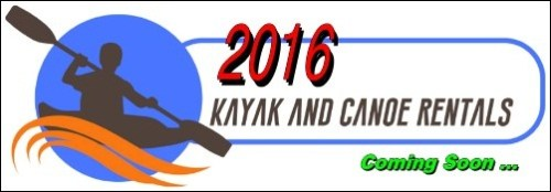 2016 Kayak + Canoe Rentals