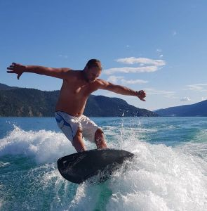 Innerspace sells wake surf boards