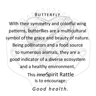 Butterfly innerSpirit Rattles Storycards