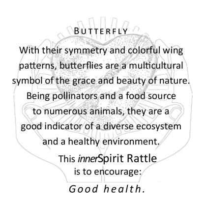 Butterfly innerSpirit Rattles Storycards