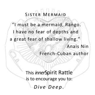 Mermaid innerSpirit Rattles Storycards