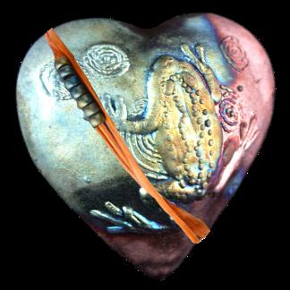 Frog Heart Raku: Encourage New Beginnings