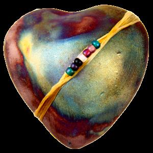 Smooth Heart Raku: Encourage Peace of Mind