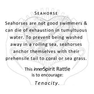 Seahorse innerSpirit Rattle Storycards