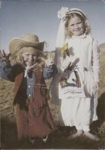 Hannah and Michaela 1994