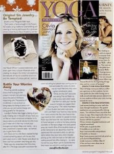 InnerSpirit Rattles in Yoga Magazine