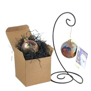Raku Ornaments Come Gift Boxed With Story Card