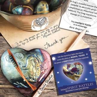 innerSpirit Rattles make wonderful thank you gifts