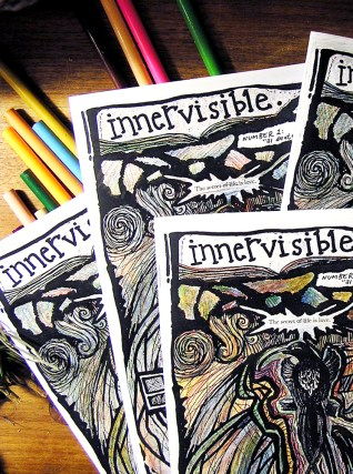innervisible: the zine. 2008.