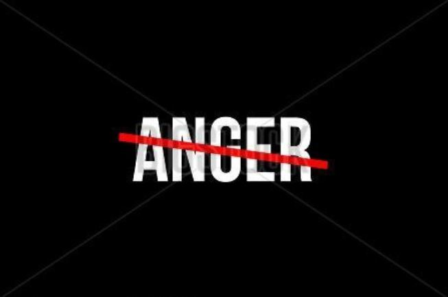 How does it feel to rise above anger?